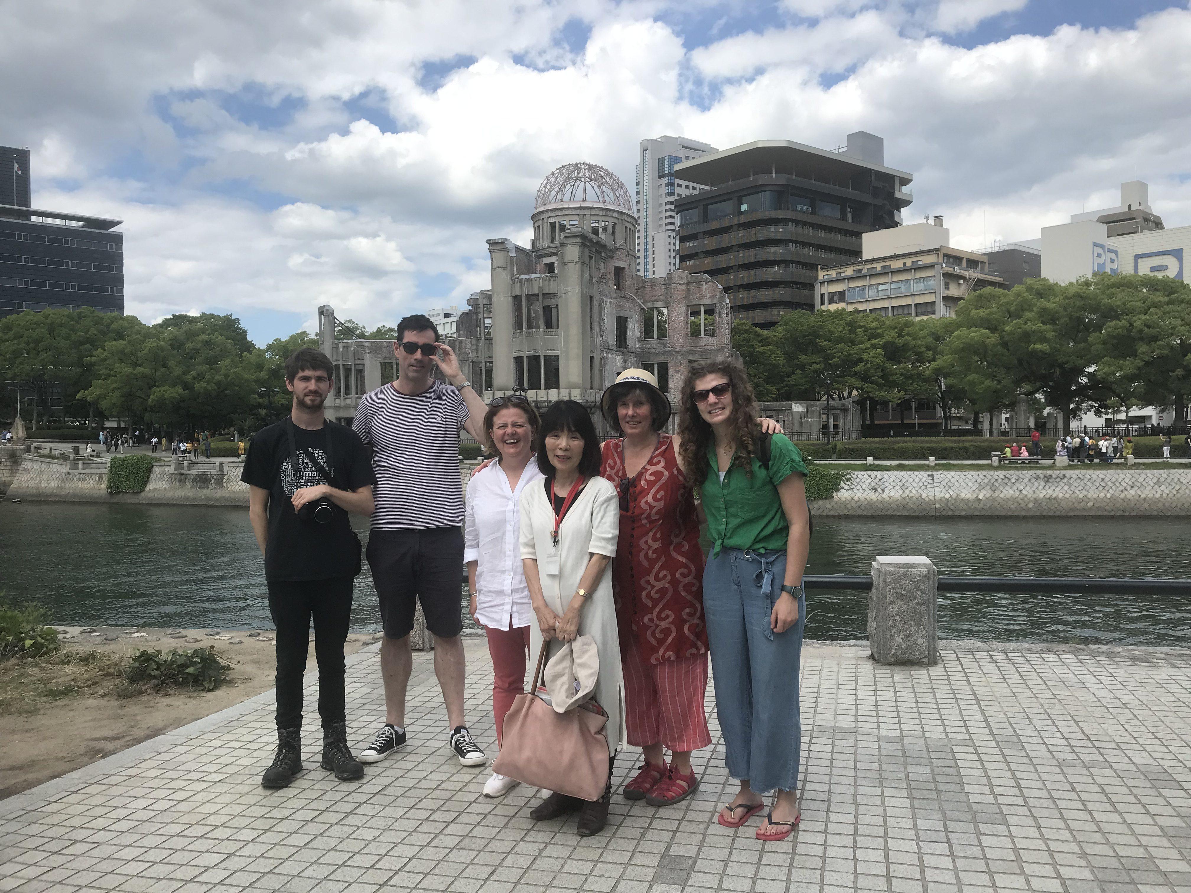 Commemorating Hiroshima, City of Peace
